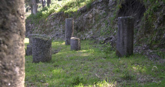 Milhas, Via Romana, Souto