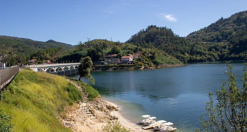 Albufeira da Caniçada, Pontes - Rio Caldo
