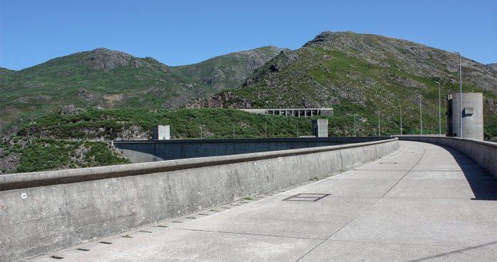 Paredão, Barragem de Vilarinho da Furna