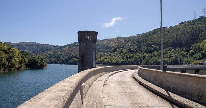 Vista Paredão e Torre, Barragem da Caniçada, Paradela - Valdosende