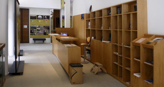 Receção - Centro de Educação Ambiental do Vidoeiro - Gerês
