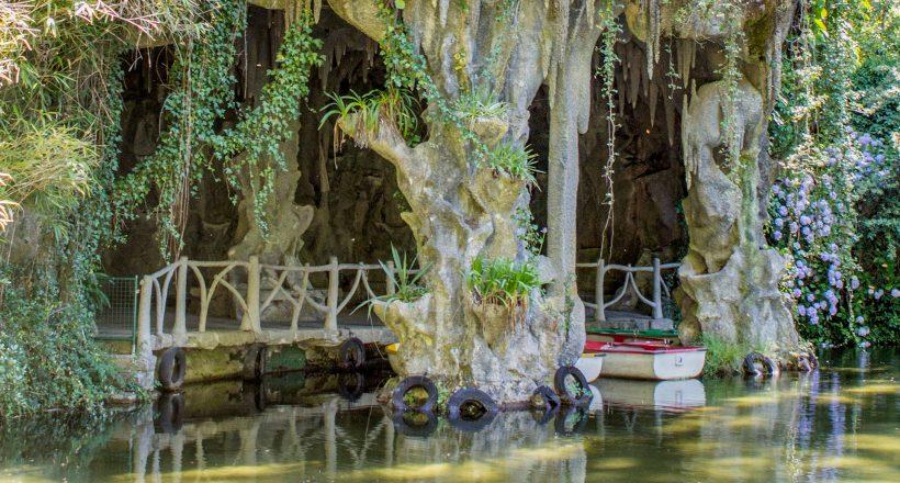 Lago e Gruta, Parque Tude de Sousa (Termas do Gerês)