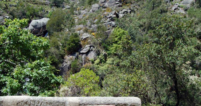 Cascata do Arado, Placa