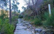 Cascata da Portela do Homem, Calçada de Pedra