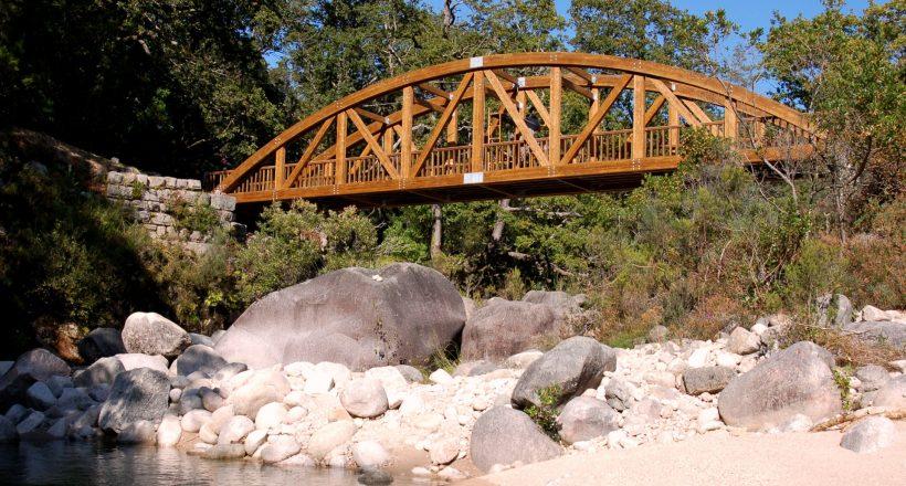 Ponte São Miguel, Mata da Albergaria