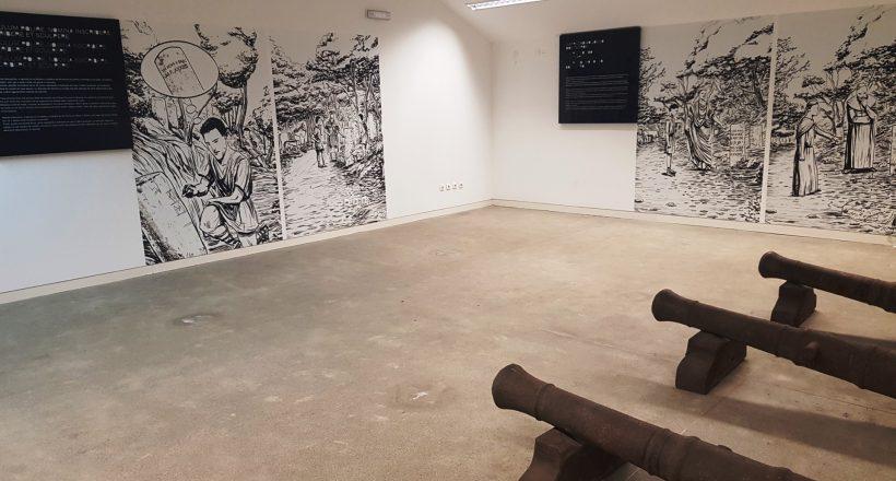 Galeria Marcos Miliários, Exposição