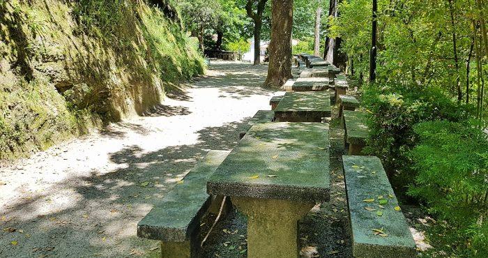 Parque S.Bento. mesas de merenda